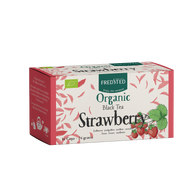 Organic Black Tea Strawberry from Fredsted