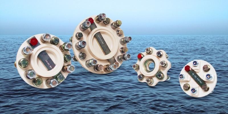 R&D Marine Flexible Shaft Couplings