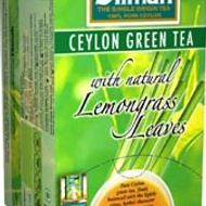 Ceylon Green Tea with Lemongrass from Dilmah
