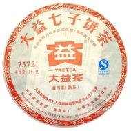 Dayi 7572-201 2012 from Menghai Tea Factory