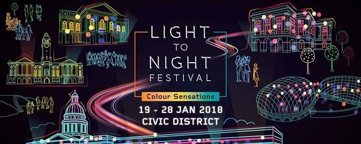 Light to Night Festival 2018: Colour Sensations