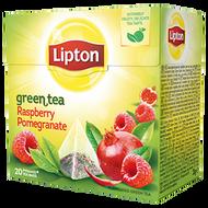green tea raspberry pomegranate from Lipton