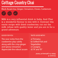 Country Cottage Chai from World Tea Podcast