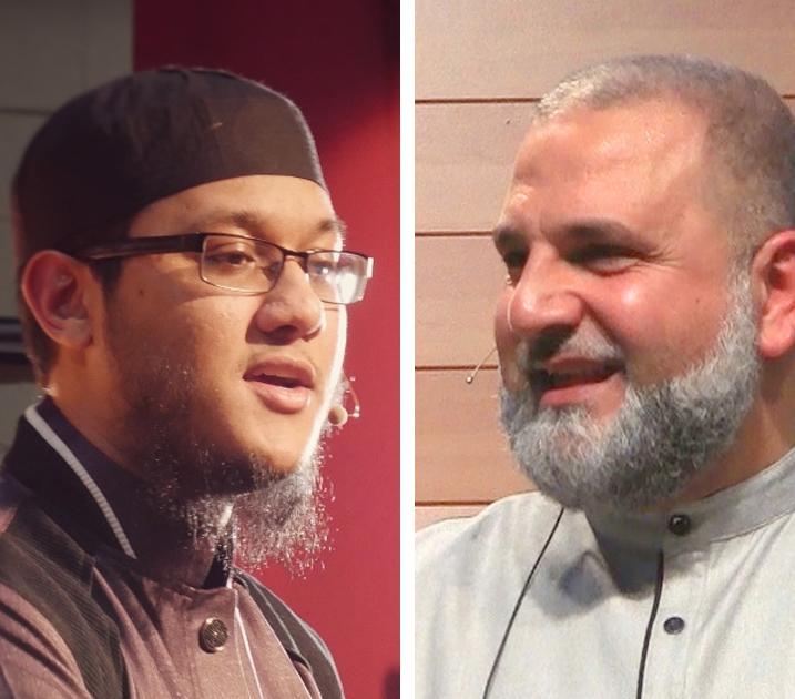 Sh. Zakareeya Baksh and Ustadh Mohamad Baajour