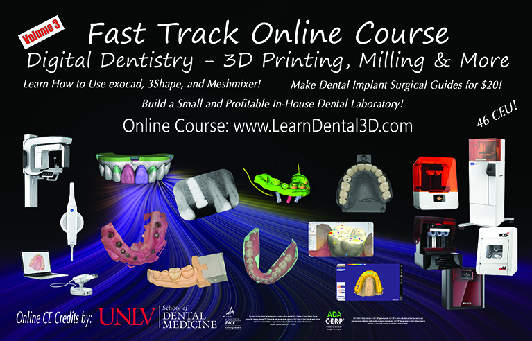 Dental 3d Printing For Restorative Surgical Procedures Fast Track