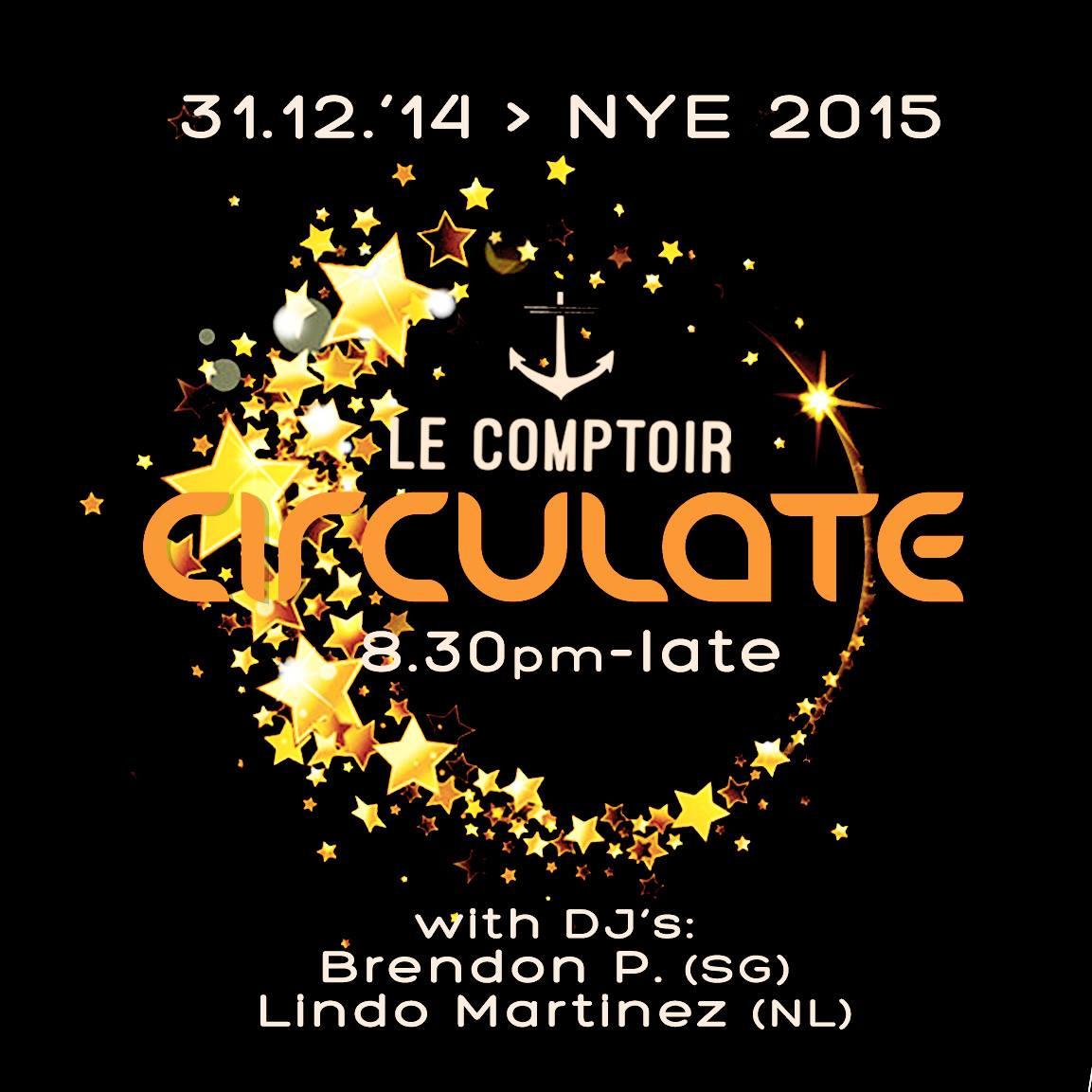 CIRCULATE NYE 2015