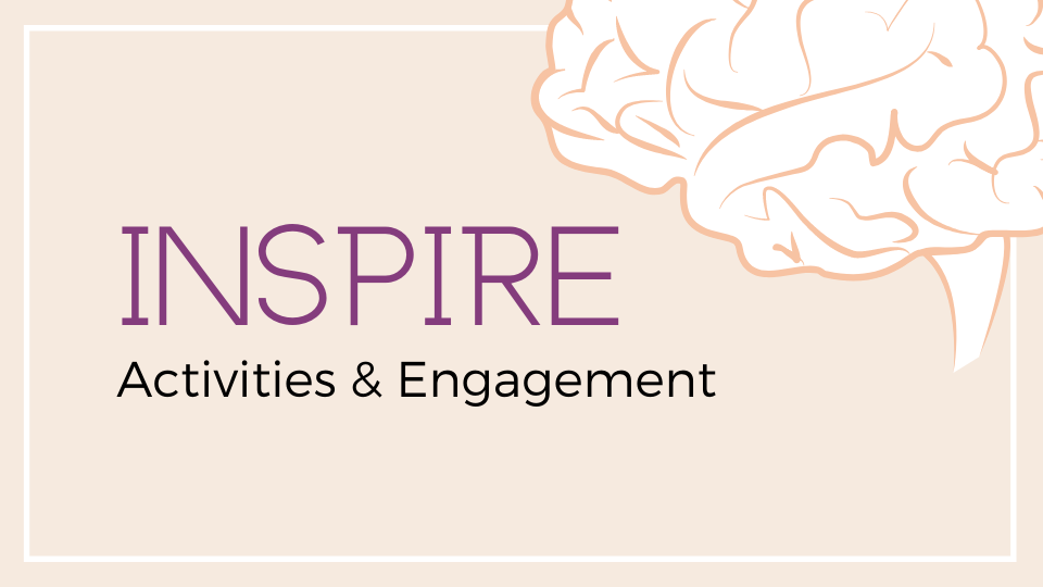 Inspire - activities & engagement programme