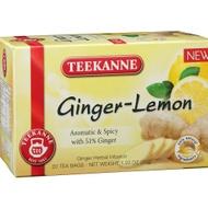 Ginger-Lemon from Teekanne