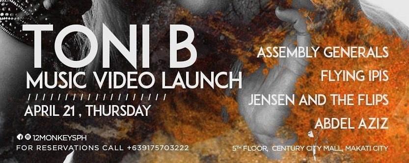 Toni B Music Video Launch