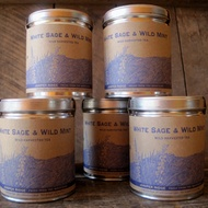 White Sage and Wild Mint from Juniper Ridge