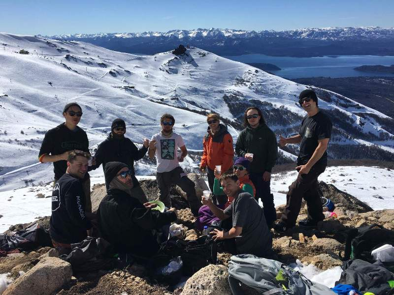 Mountain top lunch