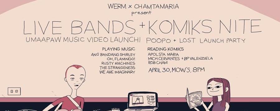 Live Bands and Komiks Nite