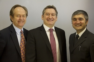 Winston Duguid, Craig Errington and Andeep Mangal