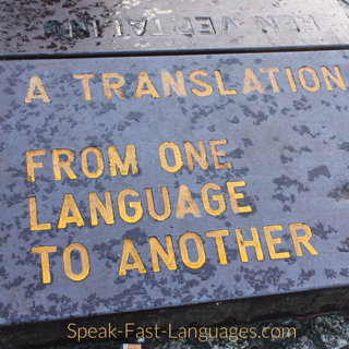 How To Avoid Translating In Your Target Language