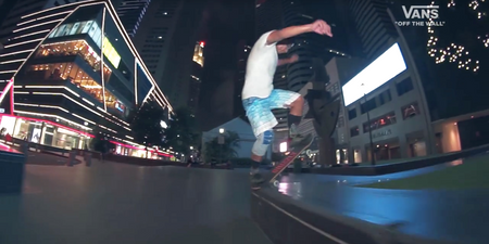 WATCH: A skating montage video by VANS, soundtracked by Forests