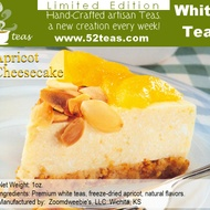 Apricot Cheesecake Shou Mei from 52teas