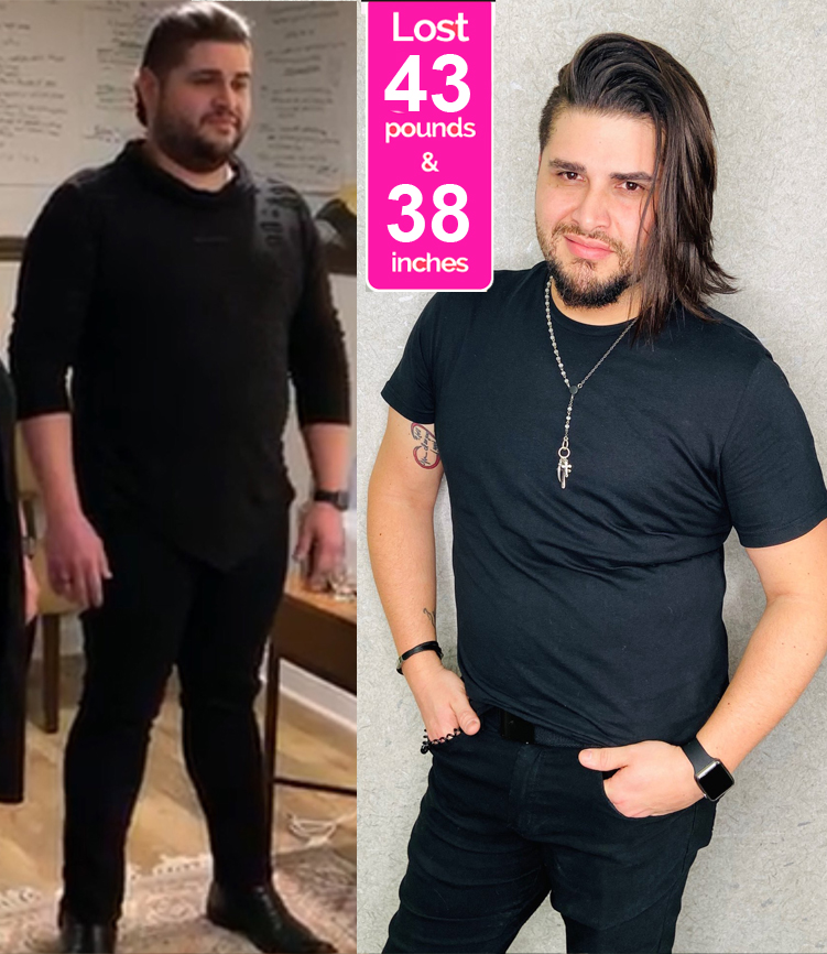 Luis Before & After Pics - Janis Saffell 4 Week Fat Blaster