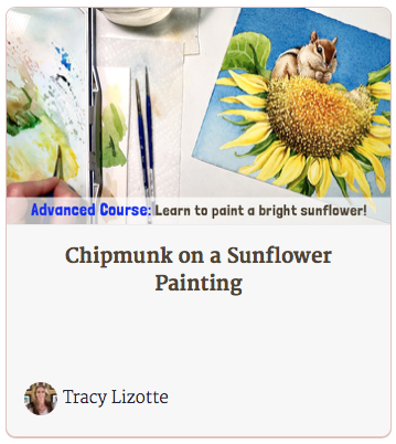 Chipmunk on a Sunflower Course