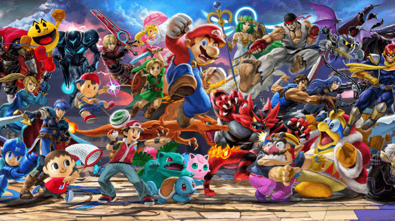super smash bros ultimate characters