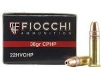 "Fiocchi Ammunition FIOCCHI 22 LONG RIFLE 38GR COPPER PLATED HP AMMUNITION 50RDS - 22FHVCHP ""IN STORE"""