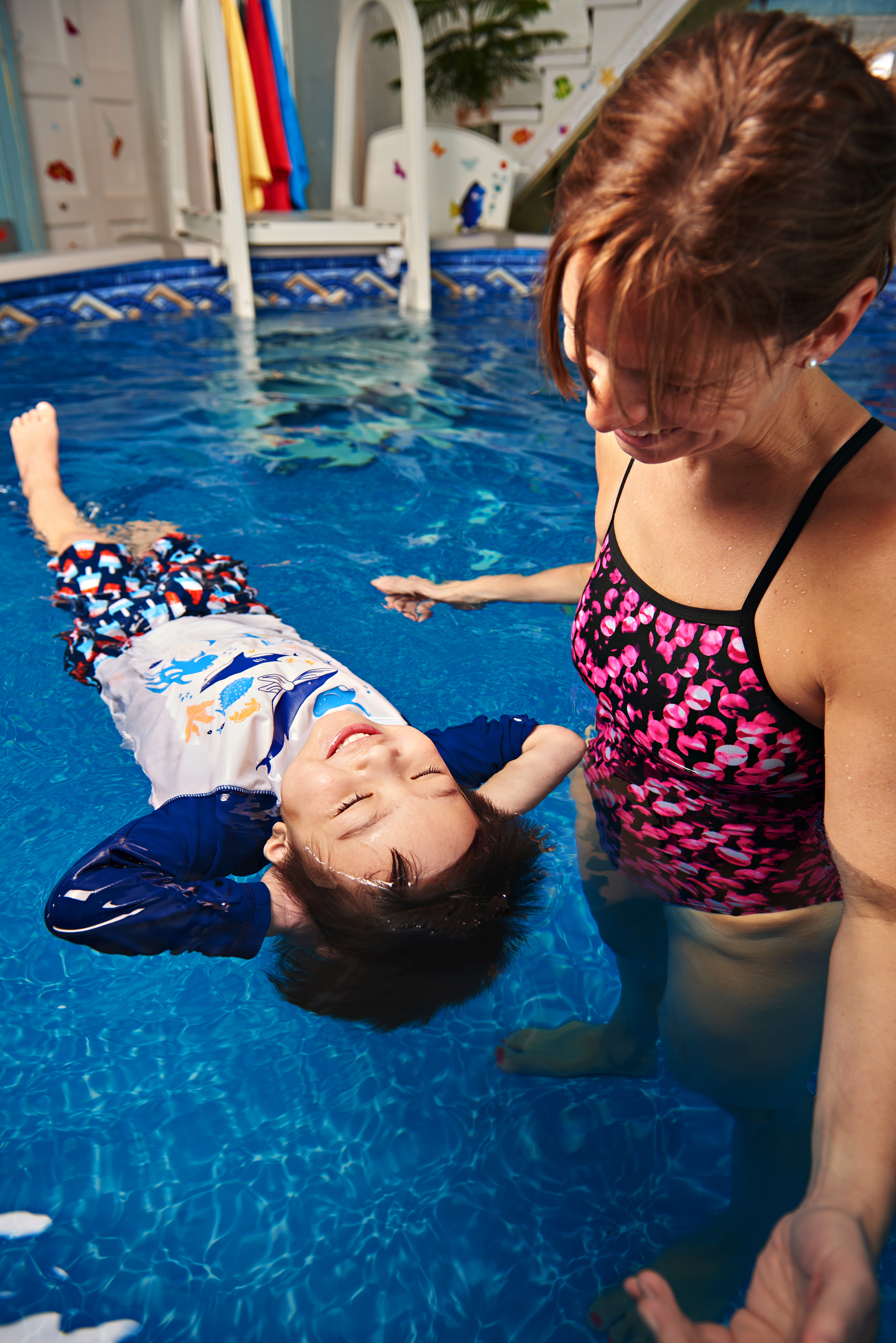 Swim for Life Back Float