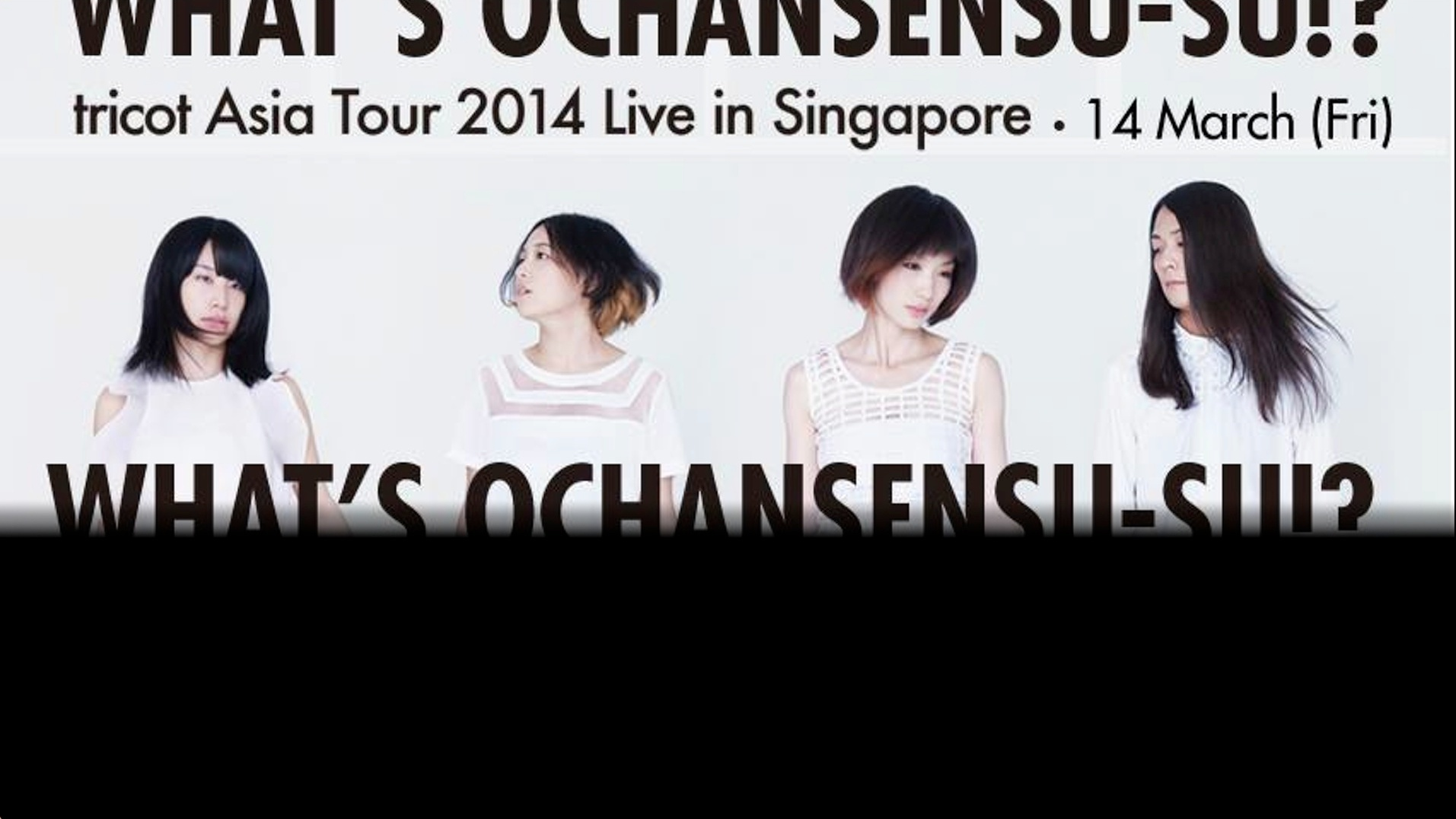 Tricot Live In Singapore