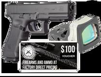 Glock Glock G17 G4 MOS + Trijicon RMR +$100 Gift Card