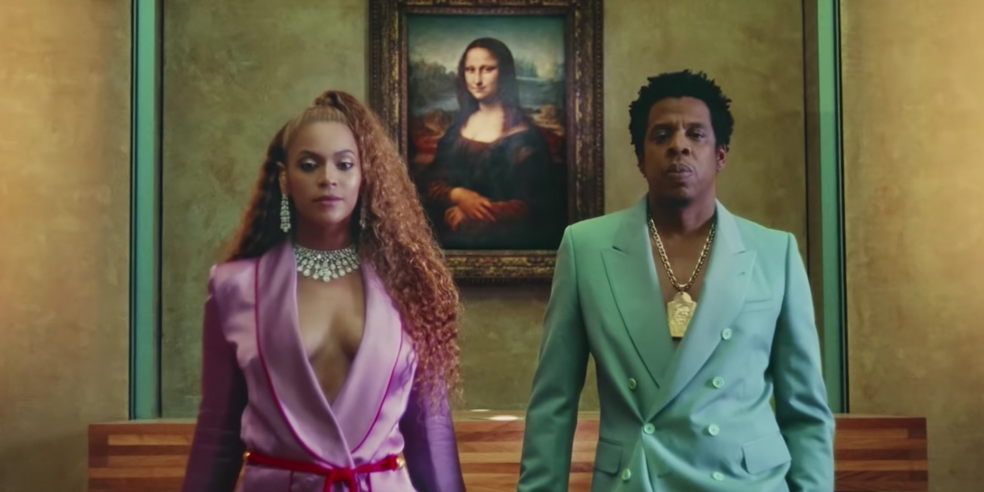 Beyoncé and Jay-Z take over the Louvre in music video for 'APESHIT' off new joint album – watch