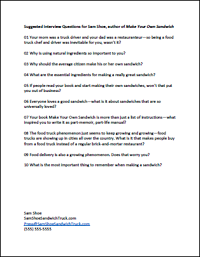 Creating your interview questions ultimate guide to creating an in most cases an interviewer hasnt read your book dont take it personallyits impossible for that person to read every book of every guest malvernweather Image collections