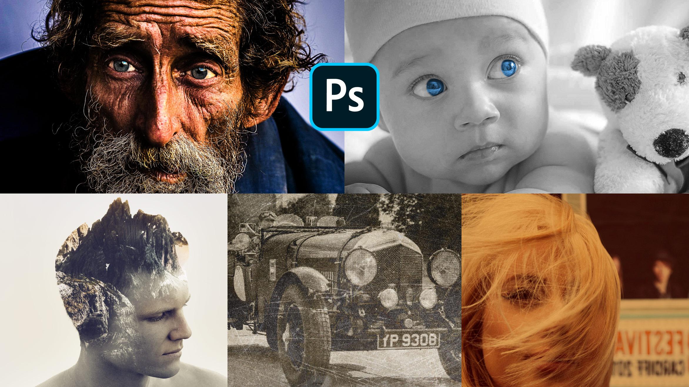 Efectos con Photoshop - Aprende a crear efectos fotográficos
