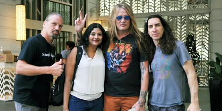 How I spent my day with Sebastian Bach shopping for vinyl records in Singapore