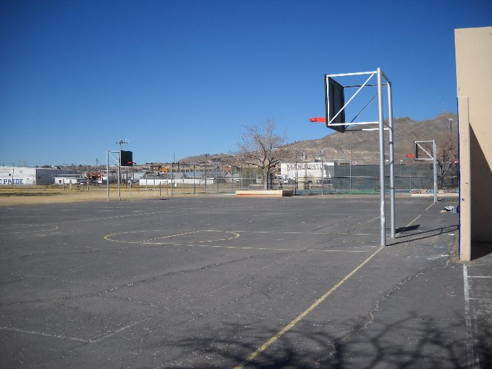 El Paso Independent School District Facilities Bowie High School Outdoor Basketball Courts