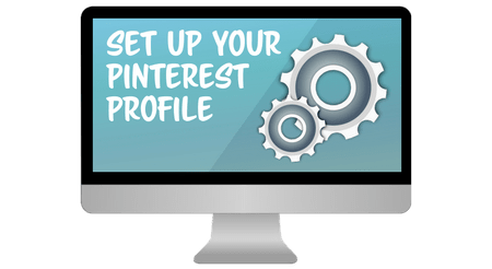 set up pinterest profile