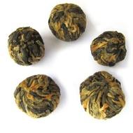 China Yunnan Dragon Pearl Black Tea from What-Cha