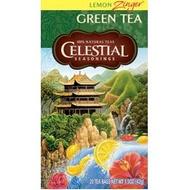 Lemon Zinger Green Tea from Celestial Seasonings