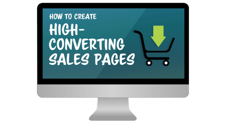 creating sales pages
