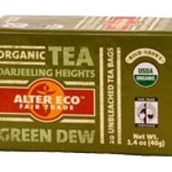Green Dew Organic Tea Darjeeling Heights from Alter Eco Fair Trade