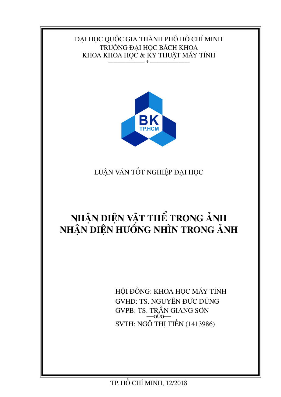 Thesis template for Ho Chi Minh City University of Technology