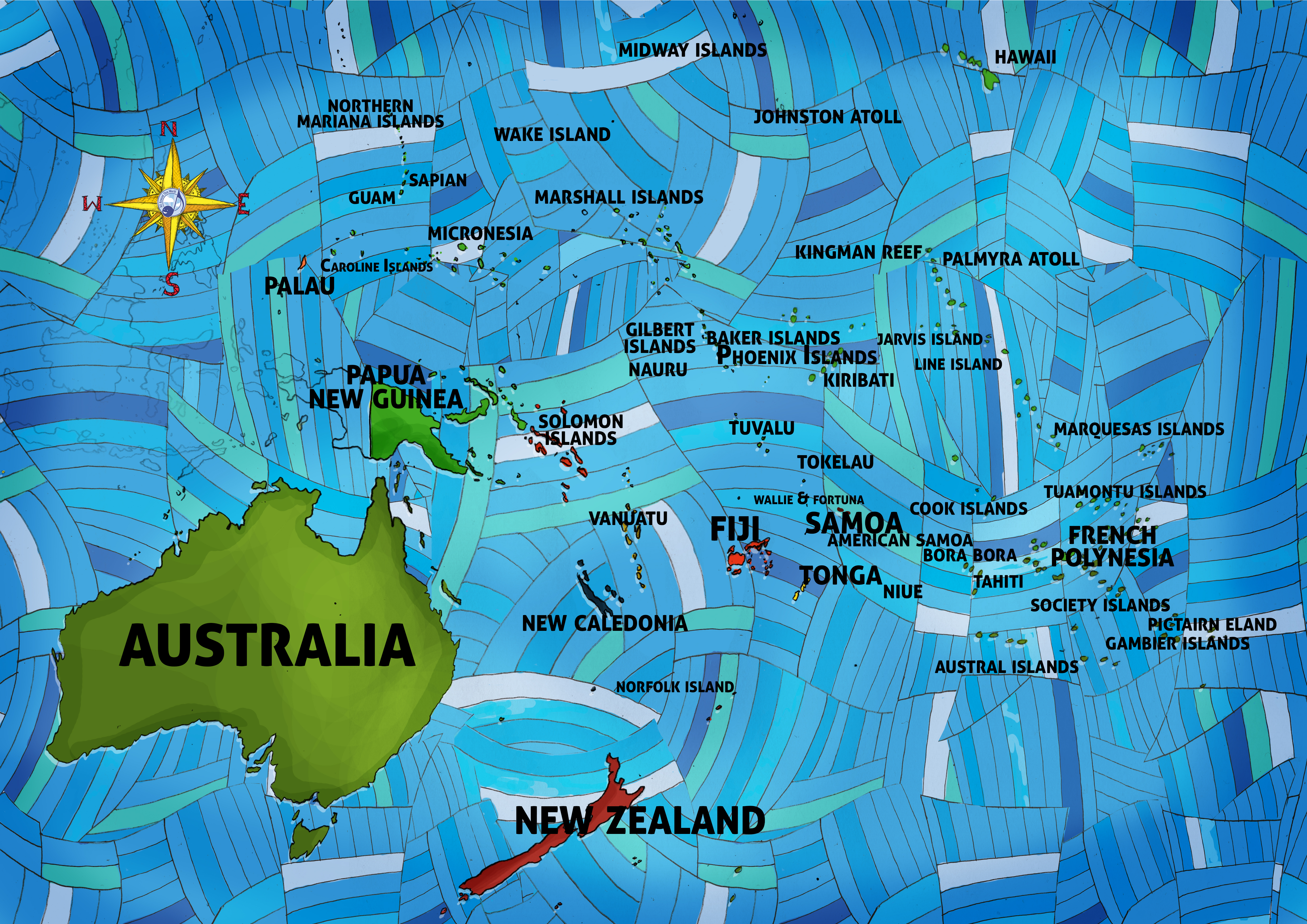 All Around This World Oceania and the Pacific Islands