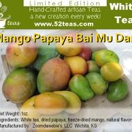 Mango Papaya Bai Mu Dan from 52teas