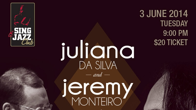 JEREMY MONTEIRO AND JULIANA DA SILVA WITH BRASILEINO BAND