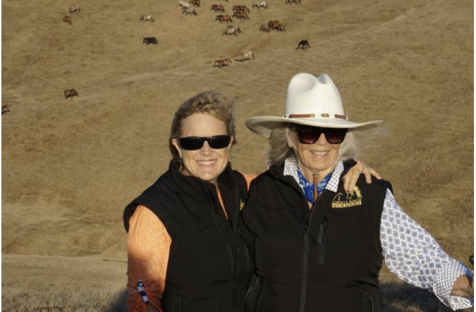 Carolyn Resnick and Nancy Zintsmaster