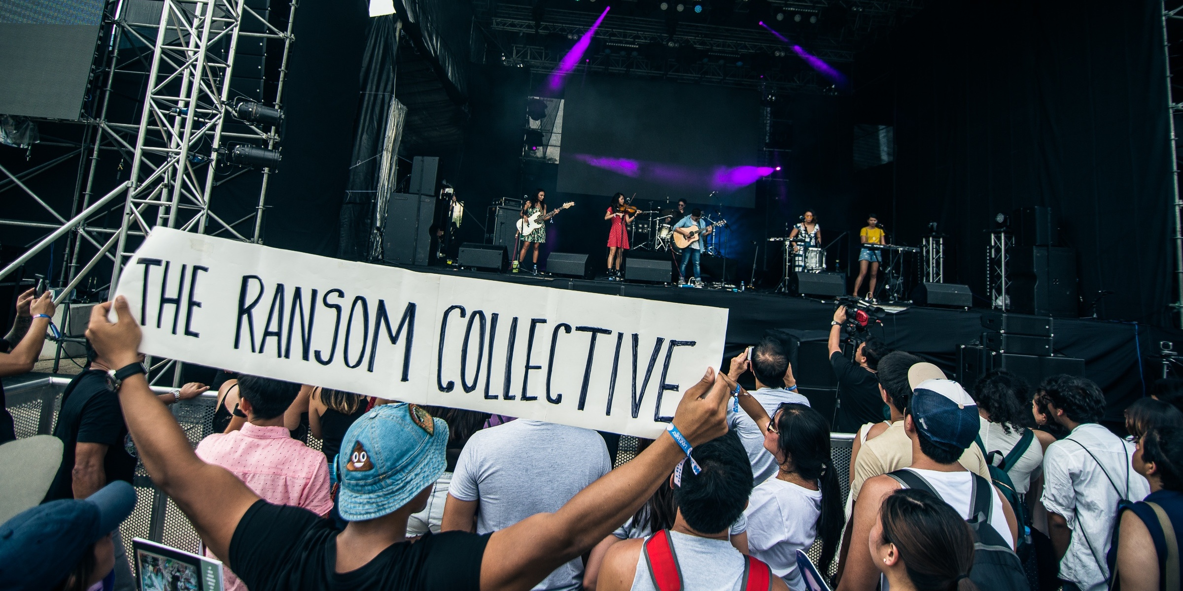 The Ransom Collective share their first Laneway (and Singapore) experience