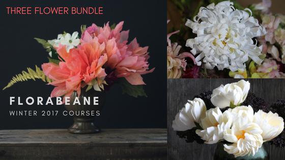 Florabeane Paper Flower Course Bundle