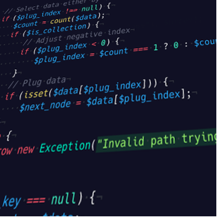 I'll review your code with focus on: security, efficiency and extensibility