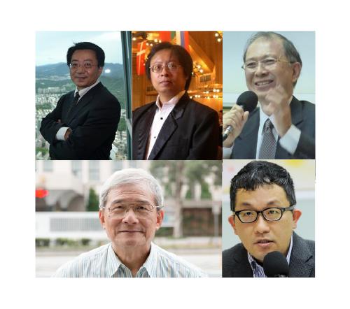蔡明憲、陳文賢、曾建元、廖福特