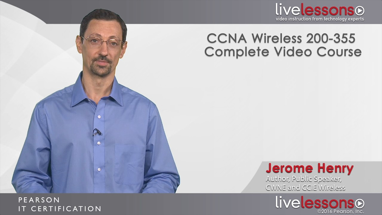 Ccna Wireless 200 355 Pearson Learn It