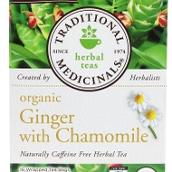 Organic Ginger with Chamomile from Traditional Medicinals