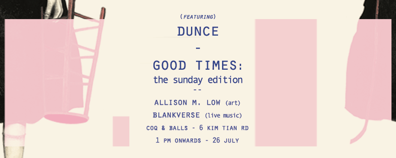 Good Times: The Sunday Edition