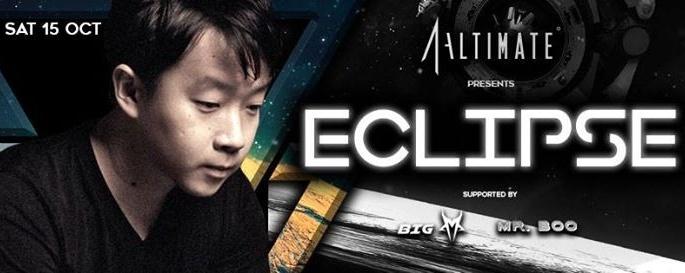 Altimate presents DJ Eclipse - 15 OCT 2016
